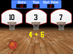 Shot Clock | Basic Math Facts (Addition, Subtraction, Multiplication, & Division)