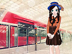 Waiting For the Subway Dress Up