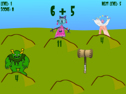 Whack-A-Troll   Basic Math Facts (Addition, Subtraction, Multiplication, & Division)