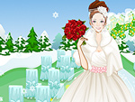 Winter Wedding Dress Up 2