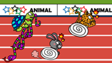 Animal Olympics Hurdles