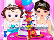 Baby Lisi Wedding Cake