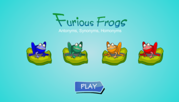 Furious Frogs Antonyms