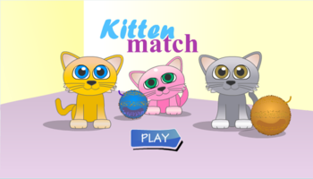 Kitten Match Adding