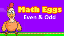 Math Eggs: Even/Odd Numbers