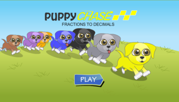 Puppy Chase Decimals
