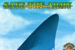 Save The Army From Blue Shark