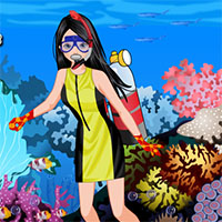 Scuba diving dress up