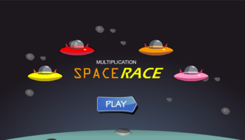 Space Race Multiplication