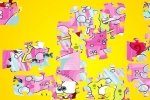Sponge Bob Shower Jigsaw Puzzle