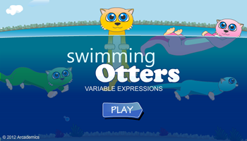 Swimming Otters Multiplication