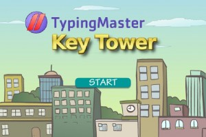 KeyTower Typing
