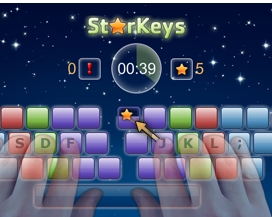 StarKeys Typing