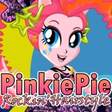 Pinkie Pie Rocking Hairstyle