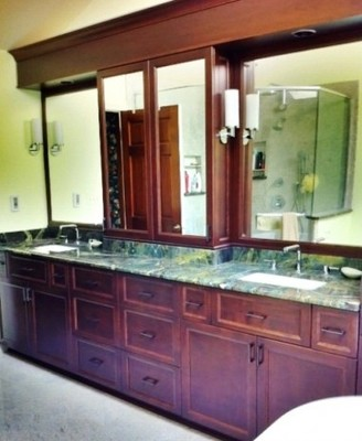 Double Sink Area