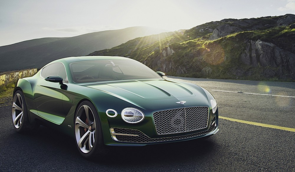 Al que nadie lo esperaba: Bentley EXP10 Speed 6