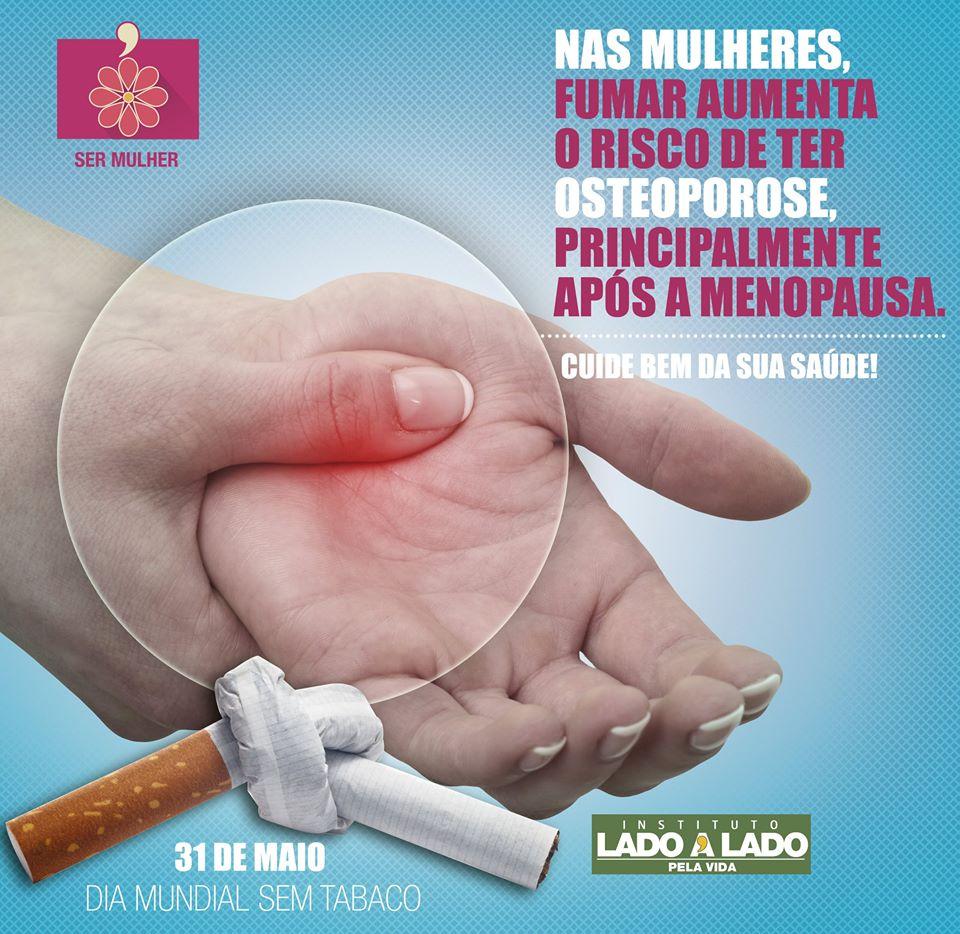 Dia Mundial sem Tabaco - Saúde da mulher
