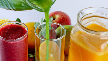 No verão, aposte nos sucos naturais!