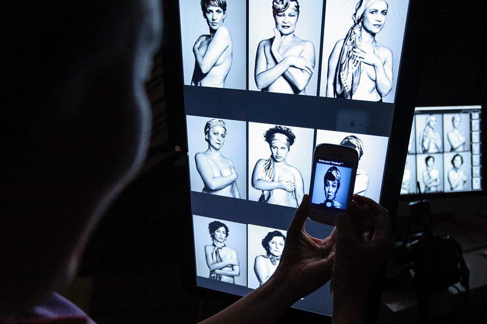 Fotógrafa Nicole Heiniger retrata mulheres com câncer de mama