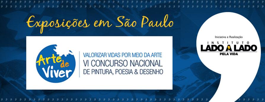 Projeto Arte de Viver realiza exposições em São Paulo