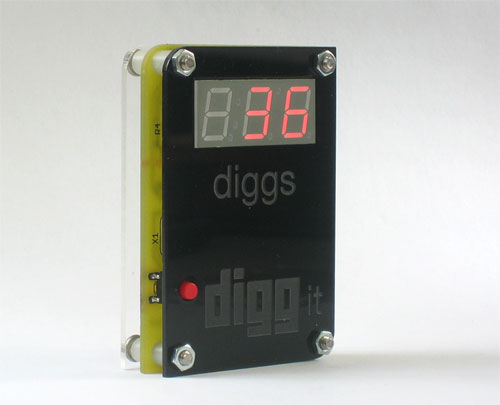 digg button w/black cover