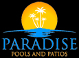 Website for Paradise Pools and Patios