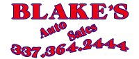 Website for Blake's Auto Sales