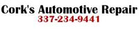 Website for Cork's Automotive Repair