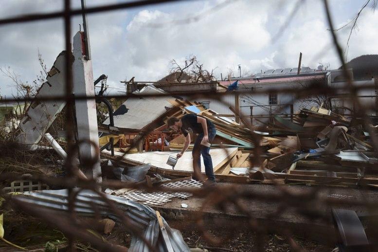 El huracán Irma cambia el color de varias islas en el Caribe