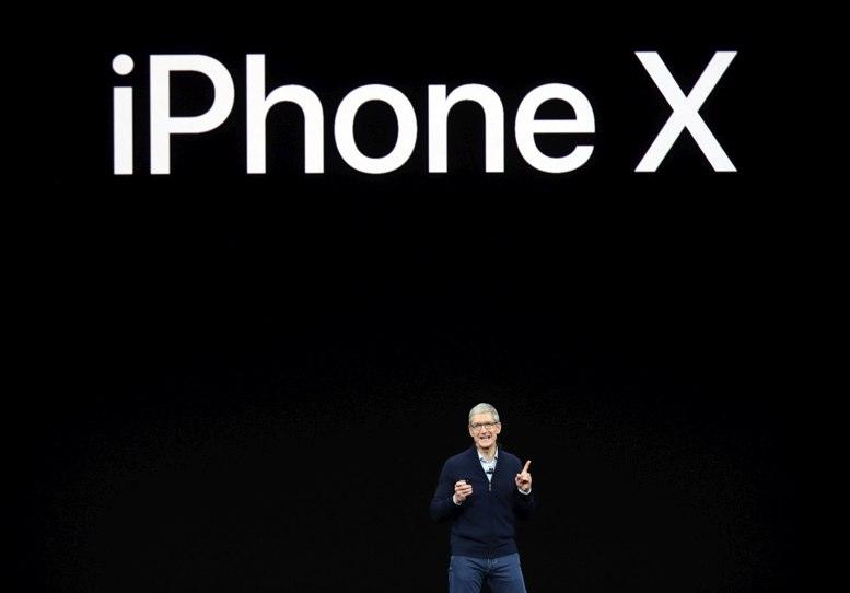 Apple presenta nuevo iPhone X con reconocimiento facial