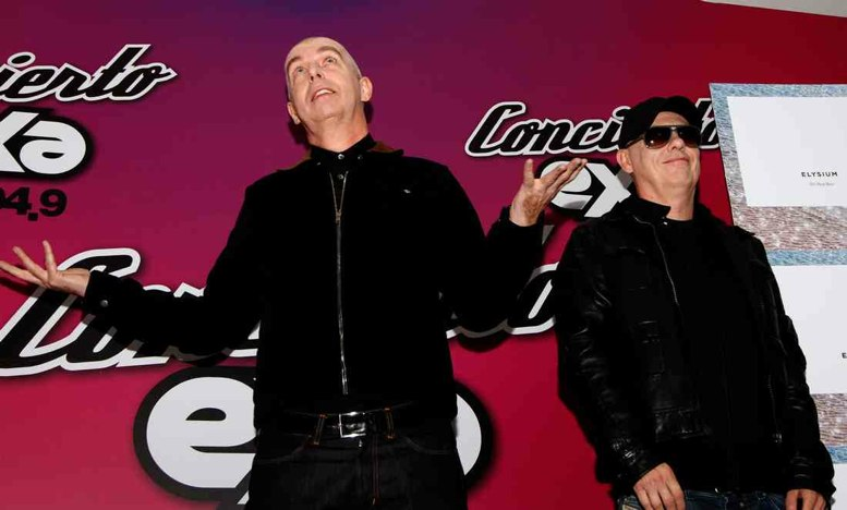 Asaltaron a los Pet Shop Boys