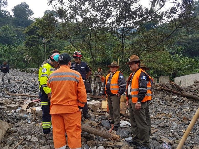 Deslizamiento en Guatemala deja dos muertos y seis desaparecidos