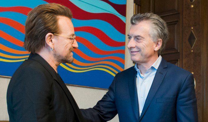 Bono charla con Macri sobre caso Maldonado