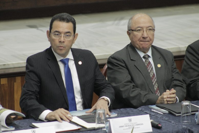 Presidente asiste a presentación de informe de labores del OJ