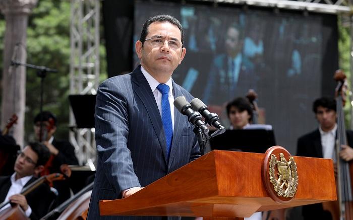 Corte de Guatemala rechaza antejuicio contra presidente Morales