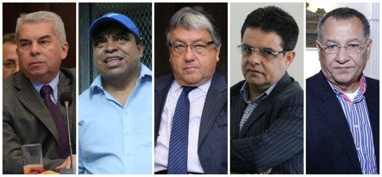Magistrado Dubón recomienda no retirar inmunidad a Rabbé, Crespo, Fajardo, Chutá y López