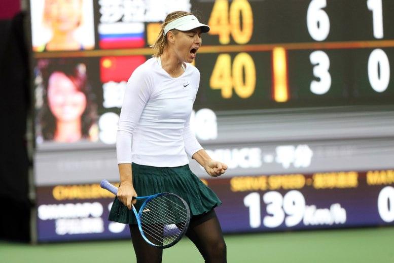 Maria Sharapova disputará su primer título del 2017