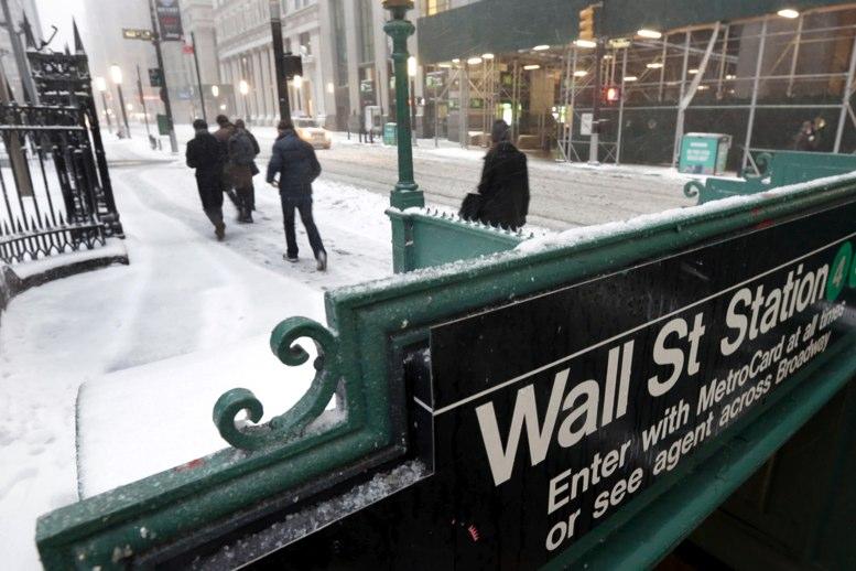 Gran repunte de acciones de Wall Street este lunes
