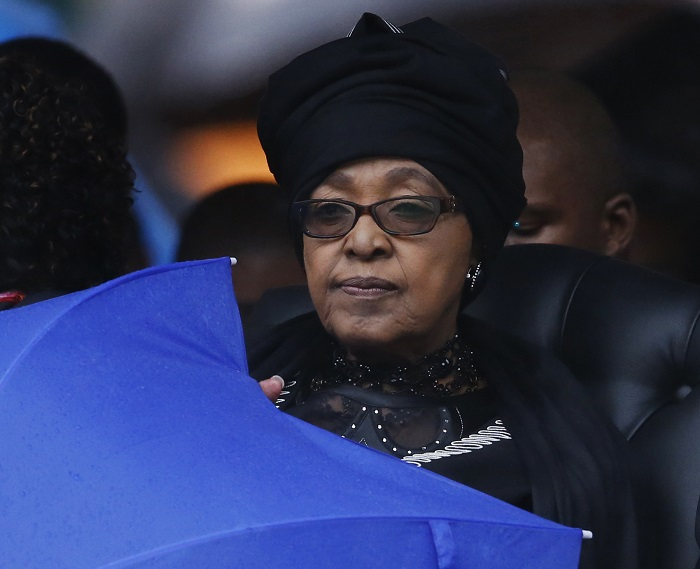 Winnie Mandela, la