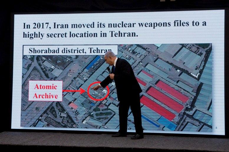 EEUU considera verídicos los documentos sobre el programa nuclear de Irán — Pompeo