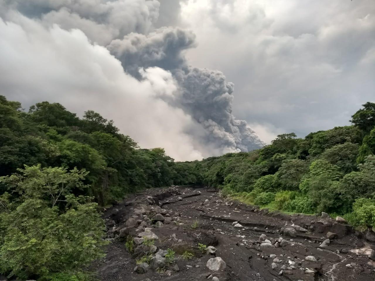 25 muertos en Guatemala por la erupción del volcán de Fuego