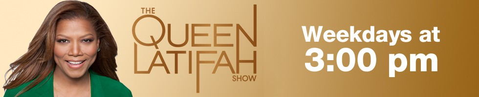 The Queen Latifah Show airs Weekdays at 3 p.m. on KSAT-12