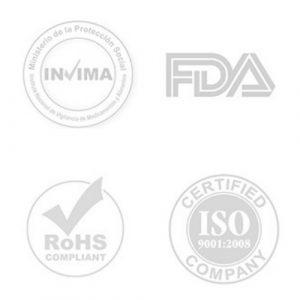 Certificado material biocompatible copa menstrual