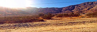 Mountain Views on the Outskirts of Cabazon California
