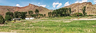 Spectacular Lot Across from the Salmon River