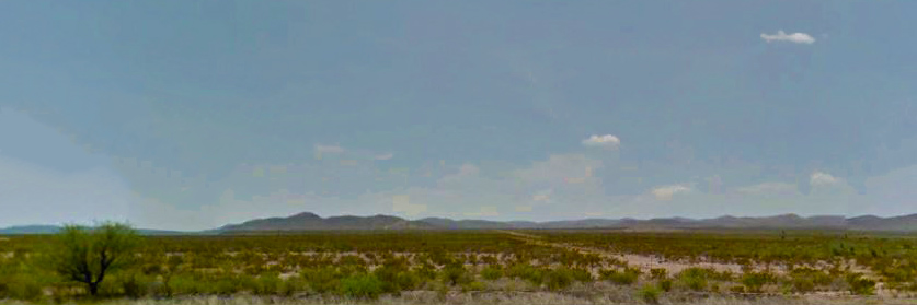 Five Acre Property North of Interstate 10 Near Van Horn