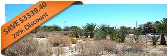 Large Lot Homesite in Desert Oasis