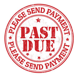 payment past due