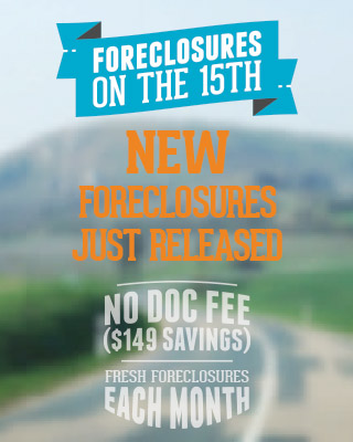 Foreclosures on the 15th