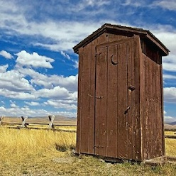 high tech outhouses